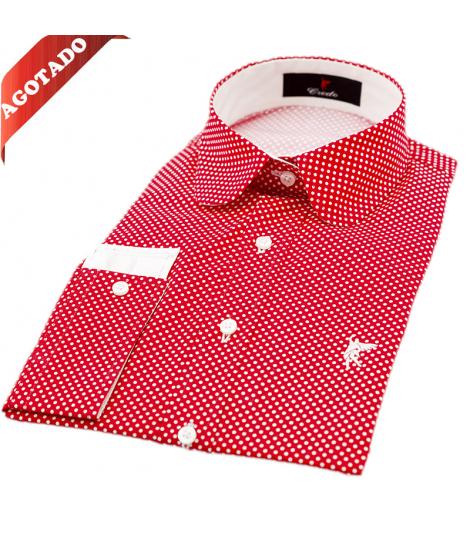 Treviso Rojas puntos blancos