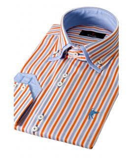 Milano Blue Striped