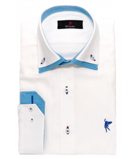 Double collar white