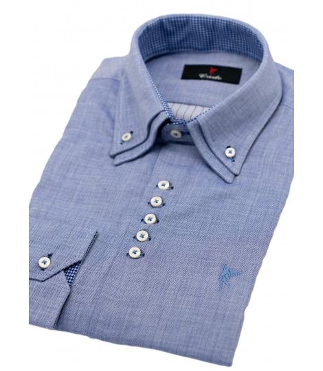 1a5182bab2 camisa elegante camisa hombre camisa doble cuello camisa a medida