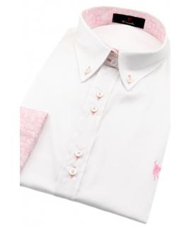 Blanco Camuflaje rosa