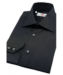 Cuello traje Negra