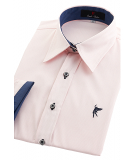 Camisa Rosa Traje