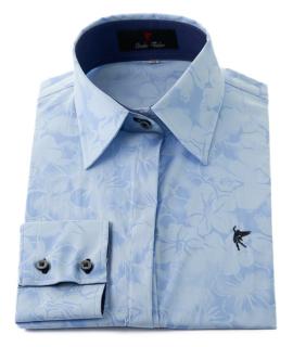 vestido camisero color azul