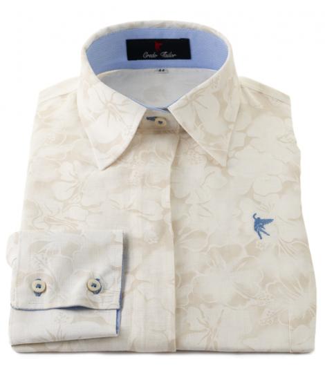 shirt dress colors beig flowers